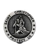 Visor Clip: St Chris Protect Us