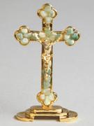 Gem Stone Cross: Aventurine (CR0007AV)