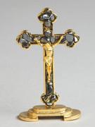 Gem Stone Cross: Hematite (CR0007HE)