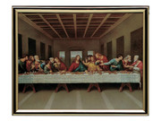GOLD FRAME - LAST SUPPER