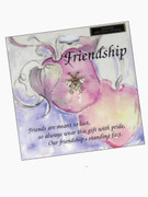 Austrian Crystal Pin: Friendship Butterfly