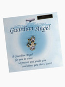 Austrian Crystal Pin: Guardian Angel