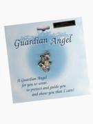 Austrian Crystal Pin: Guardian Angel