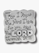 Fridge Magnet: Plans for you...Jer 29:11
