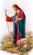 TJP Holy Card: Good Shepherd 23rd Psalm