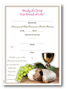 Communion Certificate: True Bread