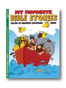 Childrens Colouring Book: Bible Stories (Ages 4-7)