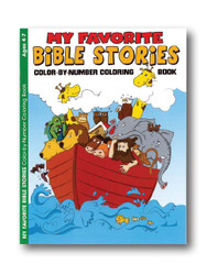 Childrens Colouring Book Bible Stories Ages 4 7 Image 1