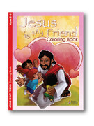 Childrens Colouring Book: Jesus is My Friend (Ages 2-5)