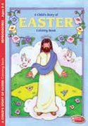 Childrens Colouring Book: Story of Easter