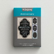 Boxed Cards: Anniversary Chalkboard (CB18546)