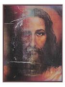 Turin Shroud Image 25 x 20cm