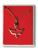 Confirmation Gift: Gold Plated Dove Pendant and Chain