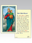 Holy Cards(each): 800 SERIES O.L. Help of Christians/Hail Holy Queen