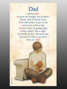 Holy Cards (each): Dad