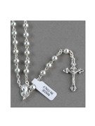 Sterling Silver Rosary: 5mm bead (RX1015)