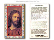 Laminated Holy Cards: 700 SERIES Footprints
