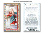Laminated Holy Cards: 700 SERIES St Christopher