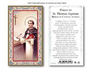 Laminated Holy Cards: 700 SERIES St Thomas Aquinas