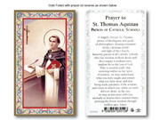 Holy Cards(each): 700 SERIES St Thomas Aquinas