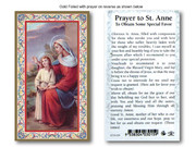 Laminated Holy Cards: 700 SERIES - St Anne/Special Favour