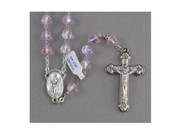 Crystal Rosary 7mm(AB): Pink (RX112P)