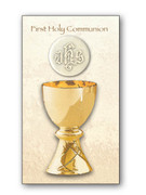 Holy Cards (pkt 100): First Holy Communion