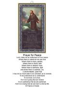 Wood Plaque: St Francis Prayer for Peace (PL1812)