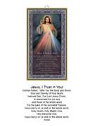 Wood Plaque: Divine Mercy (PL1858)