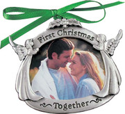 Christmas Ornament/frame, 1st Christmas Together (CO707)