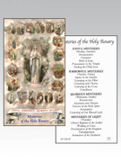 Holy Cards(each)  Lourdes / Mysteries