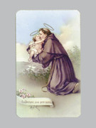 400 Series Holy Card (laminated) St Anthony