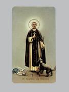 400 Series Holy Card (laminated) St Martin de Porres