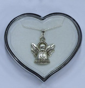 Pendants & Chain Angel Heart