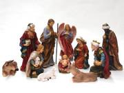 Nativity Set: 108cm 11 pieces Rich Colour