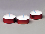Devotional Candles: 2hr Metal Bulk Pkt70