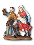 Holy Family Flight Into Egypt Statue: 17.5cm (NST1845)