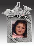 Christmas Ornament/frame, Daughter
