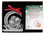 Christmas Ornament  OWL1st Christmas Together