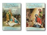 Christmas Cards ITALIAN Pk 10 silver Foil #3