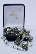 Personalised Rosary Beads: Hematite (RXHCUSTOM)