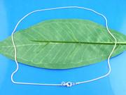 Necklace: Silver Snake Chain 45cm (JE3287)
