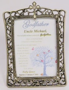 Godfather Print in Frame: Personalised (PLB1517)