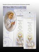 Communion Boy Card/Bookmark (Pk6)(CDC7281)