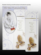 Confirmation Cards with Bookmark(Pk12): Boy (CDF7335)