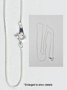 Plain Chain: Stainless Steel Fine, Bulk Lot 5 (JE140S5)