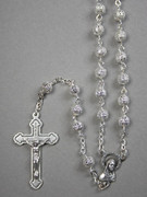 Rosary: 6mm Filigree silver bead (RXFIL6)