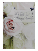 Greeting Cards(6): 25th Wedding Anniversary(CD20627)