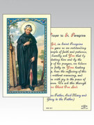 Holy Cards: 800 SERIES - St Peregrine EACH