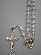 Rosary: Mixed Gold & Silver Beads (RXPL6)
